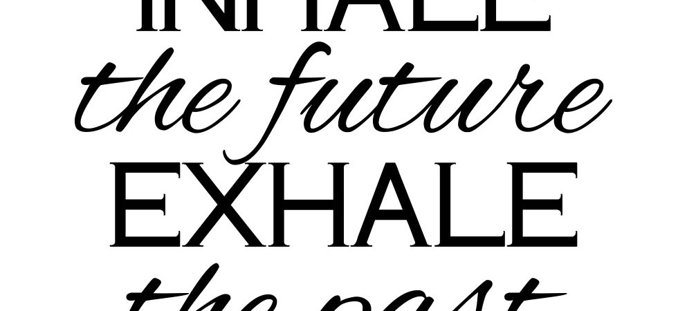 Breathe In the Future Exhale the Past – The Vinyl Cut