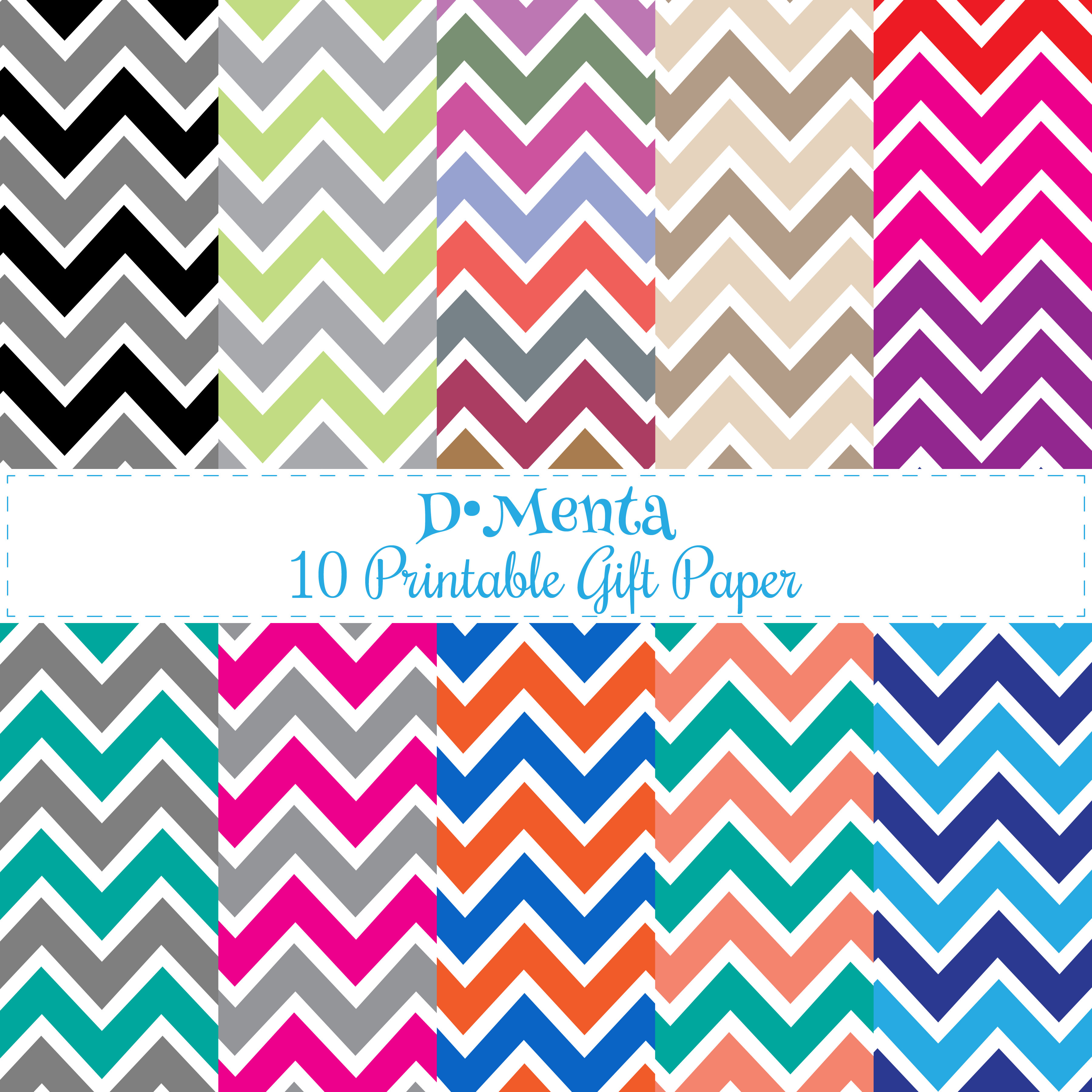 image relating to Chevron Printable Paper named 10 Reward printable Chevron paper