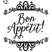 sign 12. Bon Appetit