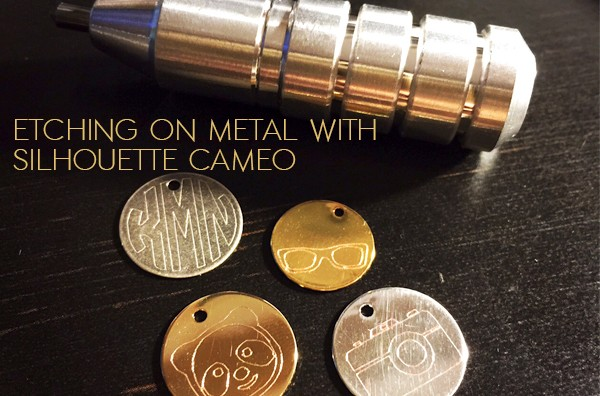 Etching Metal With Your Silhouette Cameo Machine The