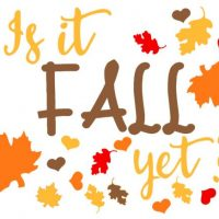 Is it fall yet F2