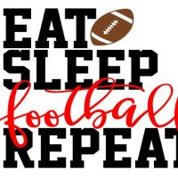 eat sleep football F3