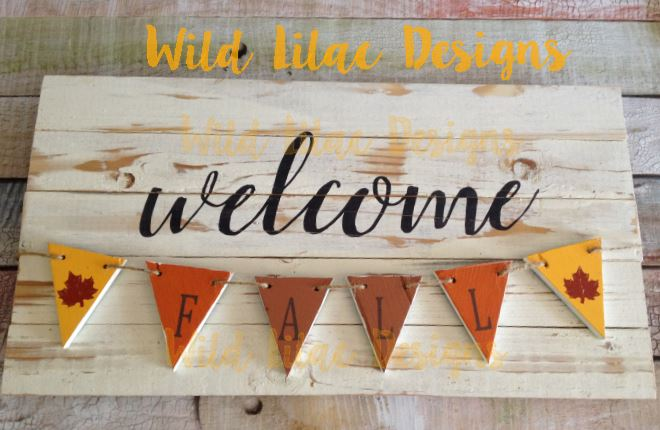 reversible welcome fall welcome winter sign the vinyl cut