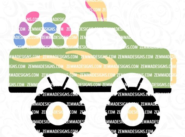 0432 monster truck eastser egg