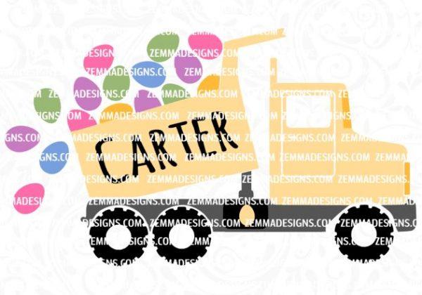 0437 dump truck easter egg