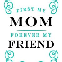 First my mom Embellished nest