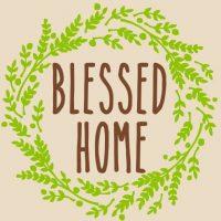 blessed home Embellished Nest